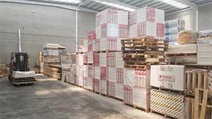 almacen materiales construcción