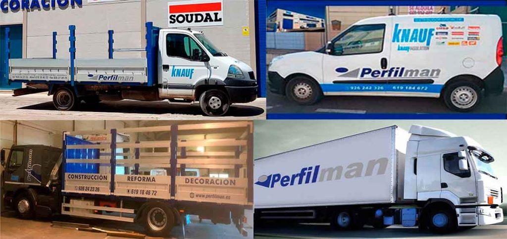 servicio de transporte de materiales