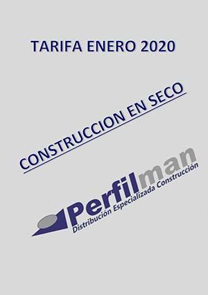 tarifas construccion seco 2020