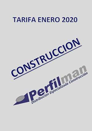 tarifas construccion 2020