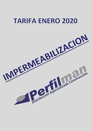 tarifas impermeabilizacion 2020