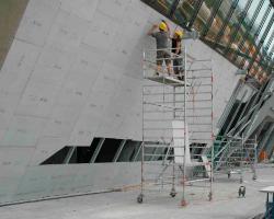 sistemas de fachadas y techos Aquapanel
