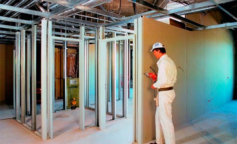 paneles y accesorios para la construcciónconstruccion seca
